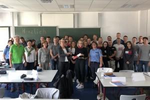 Übergabe der Einstellungszusage durch die Landespolizei Rheinland-Pfalz an unsere Polizeischülerinnen und Polizeischüler