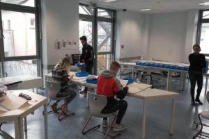 Planspiel des Werkzeugmaschinenlabors (WZL) der RWTH Aachen und der Hochschule Koblenz an der Berufsbildenden Schule Lahnstein