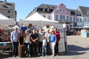 BBS Lahnstein auf dem Ruandatag 2019 in Trier