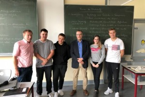 Vorsitzender Richter des OLG Koblenz zu Gast an der BBS Lahnstein
