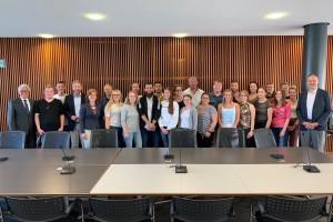 Besuch des Landtages Rheinland-Pfalz in Mainz