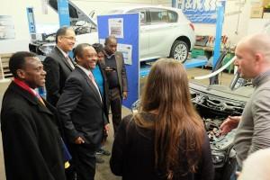 Minister aus Ruanda zu Besuch an der BBS Lahnstein
